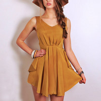 Honey Mustard Dress - sold out