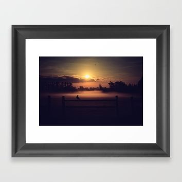 The Beginning Of The End  Framed Art Print by Faded  Photos