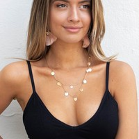Black Ribbed Bralette