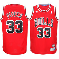 Chicago Bulls Scottie Pippen Throwback #33 Jersey Away