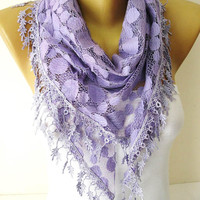 Purple Scarf - Trend scarf-gift Ideas For Her-Women's Scarves-christmas gift- for her -Fashion accessories-Shawls