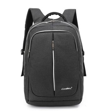 Cool Backpack school Coolbell Brand Airbag 15 15.6 inch Laptop bag Travel backpack With USB Charging Port Water-resistant Business Rucksack bags AT_52_3