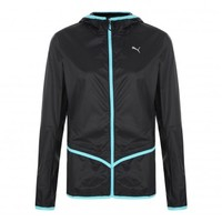 Puma Ladies Core Woven Hooded Running Jacket from sportswearsupermarket.com | The discount clearance specialists