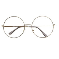 Rounded Clear Glasses
