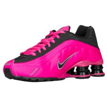 Nike Shox R4 Womens White Pink Running Trainers Shoes