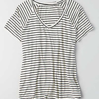 AEO Soft & Sexy Favorite T-Shirt , Chalk