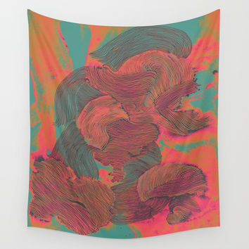 Mind Trip Wall Tapestry by duckyb