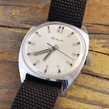 Vintage Raketa mens watch russian watch ussr ccp soviet watch