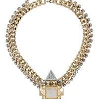 Clean Stone Pyramid Pendant - Sale - Sale & Offers - Topshop USA