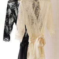 All-over Lace Kimono - Victoria's Secret