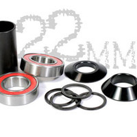 S&M Bikes Mid Bottom Bracket Kit 22mm