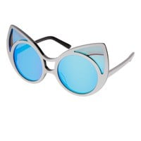 Linda Farrow Cat Eye Sunglasses