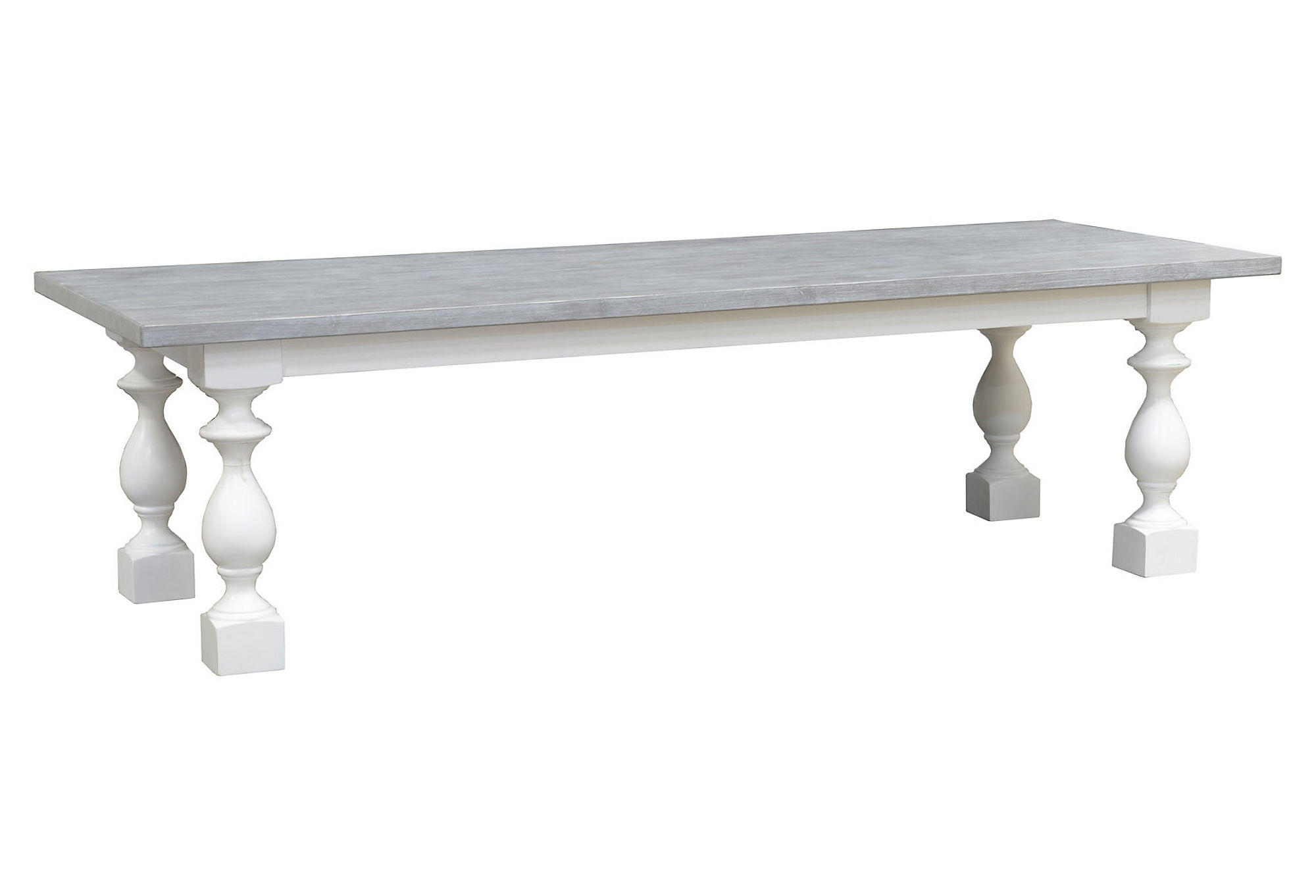 Marlow 108 Dining Table Ash Gray From One Kings Lane