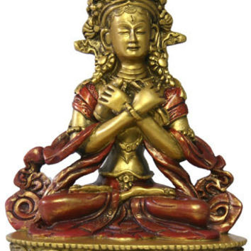 Buddha Vajradhara in Pose of Complete Realization Statue 6H