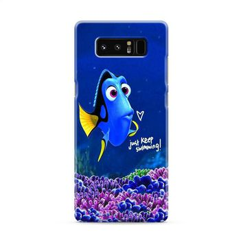 Finding Nemo (dory swimming tall) Samsung Galaxy Note 8 Case