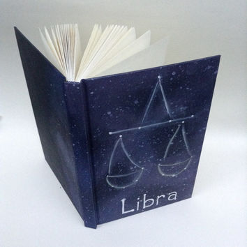 Handpainted Zodiac Notebook