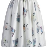 Butterfly's Tale Tulle Skirt