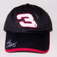 Dale Earnhardt #3 Collector's Black Ball Cap, New w/tags
