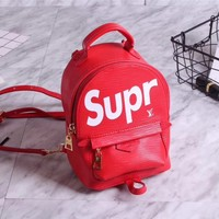 LV SUPREME LEATHER MINI BACKPACK BAG