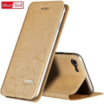 case for iPhone 7 cover iPhone 7 case plus 6 6s Plus silicon funda leather flip accessory coque for iphone 7 plus case luxury