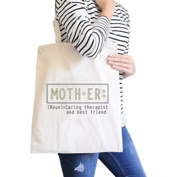 Mother Therapist Canvas Bag Unique Mothers Day Gifts From Daughters