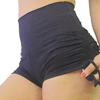 Scrunch Women Sport Shorts Yoga Fitness Gym Running Sport Panties Athletic Femme Woman Jogging Shorts