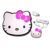 Hello Kitty Optical Mouse with Mouse Pad