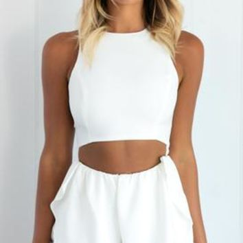 ABOVE THE CLOUDS PLAYSUIT