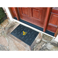 West Virginia Mountaineers NCAA Vinyl Doormat (19x30)