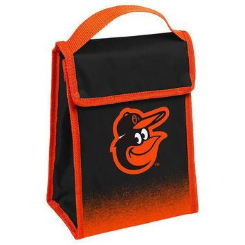 MLB Baltimore Orioles Insulated  Lunch Bag Cooler