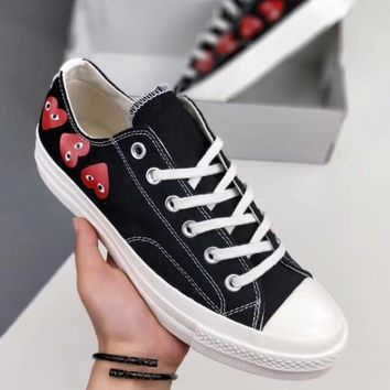 CDG x Converse Chuck Taylor 70s  Men and women casual shoes lovers shoes
