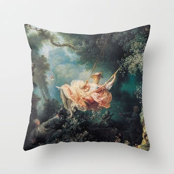The swing Throw Pillow by Jbjart | Society6