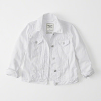 Womens White Denim Jacket | Womens Outerwear & Jackets | Abercrombie.com