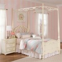 Romance Poster Bed with Optional Canopy