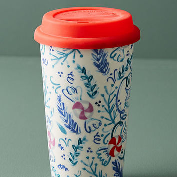 Peppermint & Marshmallow Travel Mug