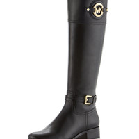 Stockard Leather Riding Boot - MICHAEL Michael Kors