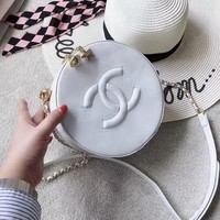 """CHANEL"" New Fashion Round Package Shoulder Bags"