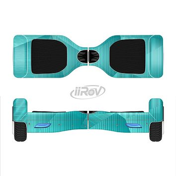 The Blue Geometric Pattern Full-Body Skin Set for the Smart Drifting SuperCharged iiRov HoverBoard