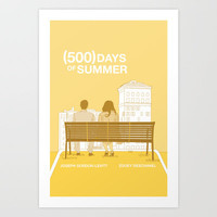 (500) Days of Summer Art Print by Twentytwo14