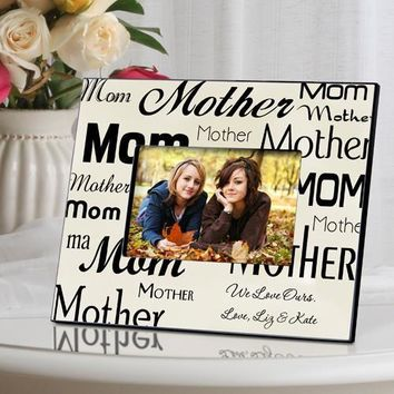 Mom-Mother Frame - Parchment
