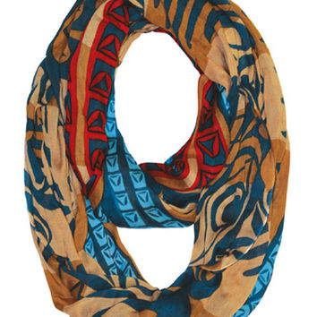 Strengthening Our Spirit Infinity Bamboo Scarf
