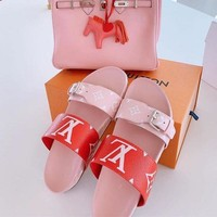 Print Slippers Shoes