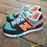 Amazon.com: New Balance Womens WL574 Outdoor Pack Classic Sneaker