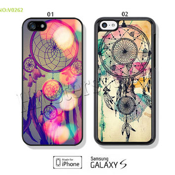 Phone Cases, iPhone 5/5S Case, iPhone 4/4S Case,  iPhone 5C Case, Dreamcatcher Galaxy S3 S4 S5 Note 2 Note 3-B0262
