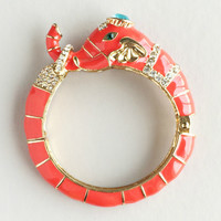 Royal Indian Elephant Bangle