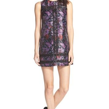 Women's Cynthia Rowley Iris Print Shift Dress,