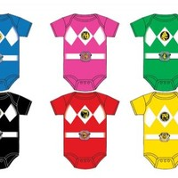 Power Rangers Baby Ranger Costume Infant Onesuit Romper