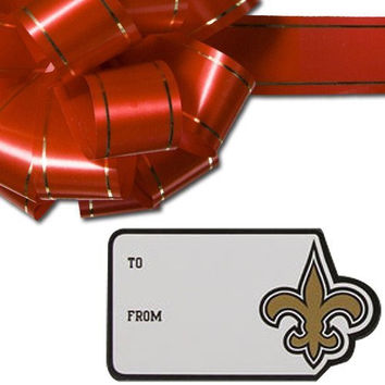 NFL New Orleans Saints Team Gift Sticker Sheet