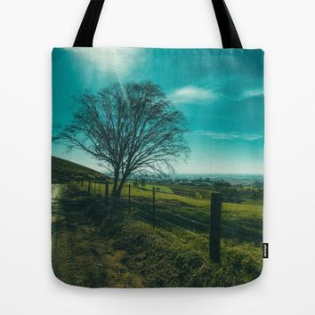 The Walk Home Tote Bag by Mixed Imagery