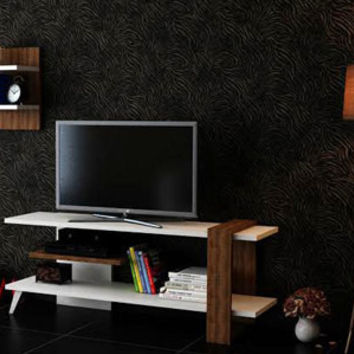DONA TV Stand and wall shelving unit